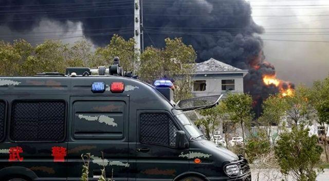 Çin'de doğal gaz hattında patlama: 11 ölü