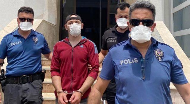 Cinayet zanlısı polise adres sordu, yakalandı