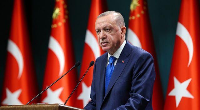Cumhurbaşkanı Erdoğan'dan şehit askerin ailesine başsağlığı