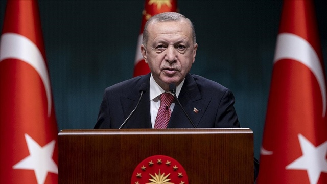 Cumhurbaşkanı Erdoğan'dan şehit Er Akın'ın ailesine başsağlığı