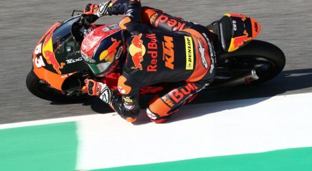 Deniz Öncü Barcelona'da Moto3 kariyerinin ilk podyumuna çıktı