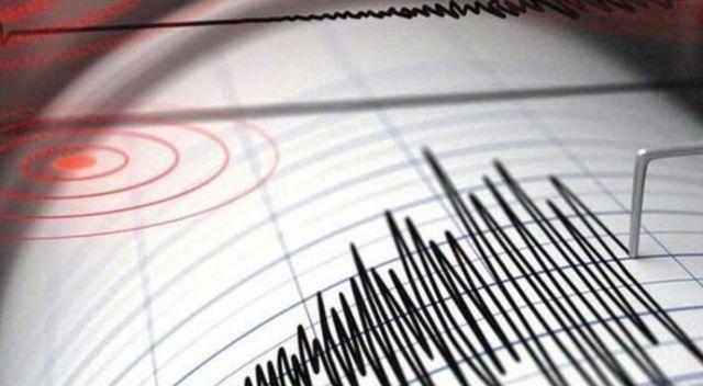 Ege'de deprem