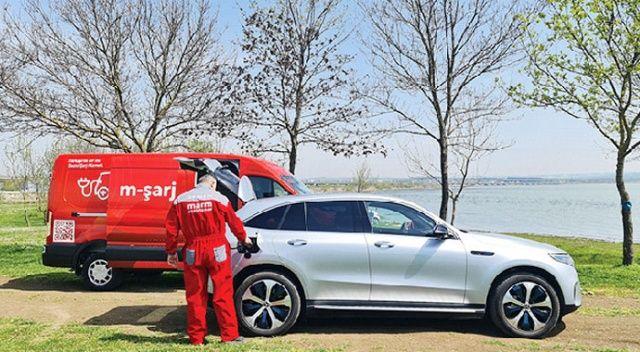 Elektrikli araçlara yolda şarj desteği