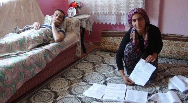 Engelli eşine maaş bağlatmaya giden kadın şoku yaşadı