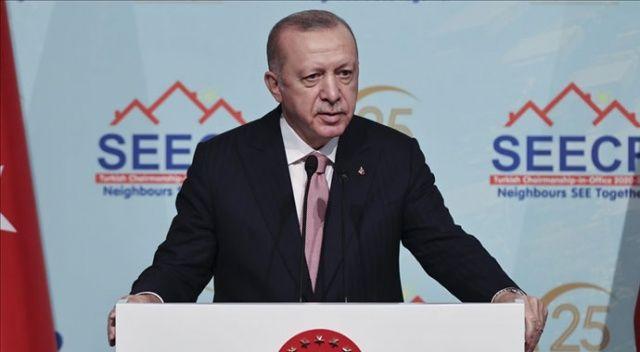 Erdoğan, Güneydoğu Avrupa Ülkeleri İş Birliği Süreci Zirvesi'nde konuştu