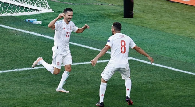 EURO 2020'de İsveç ve İspanya son 16'da