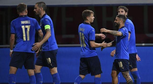 EURO 2020'deki ilk rakibimiz İtalya, Çekya'ya gol yağdırdı