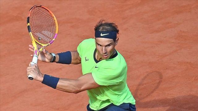 Fransa Açık'ta son çeyrek final bileti Nadal'ın