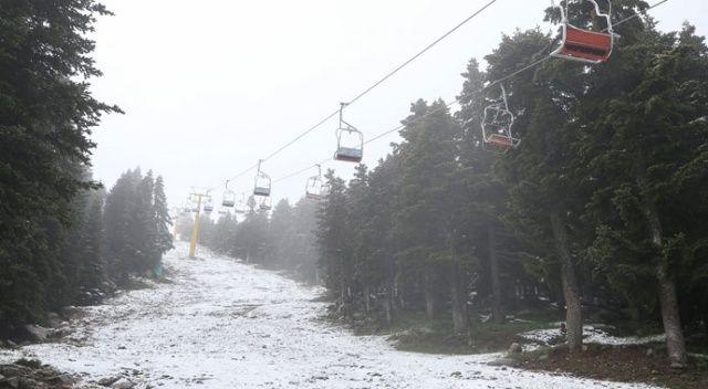 Haziran ayında kar sürprizi