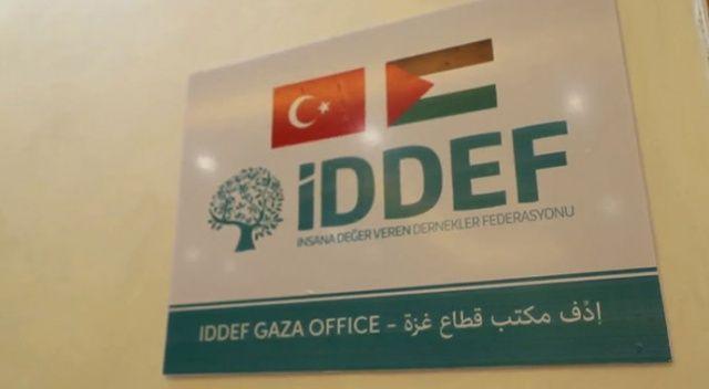İDDEF'in Gazze ofisi açıldı