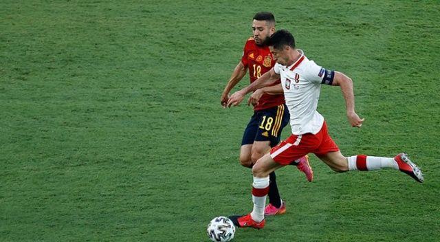 İspanya-Polonya maçı berabere bitti