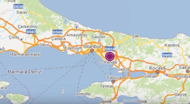 İstanbul'da deprem meydana geldi (19 Haziran son depremler)