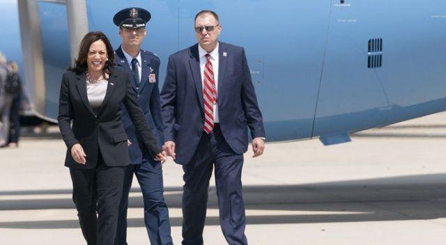 Kamala Harris'in uçağı zorunlu iniş yaptı