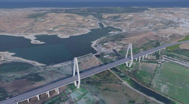 Kanal İstanbul'un ilk köprüsünün detayları belli oldu