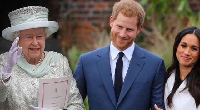 Kraliçe Elizabeth, Prens Harry'yi yemeğe davet etti