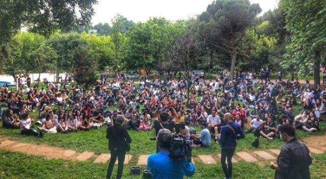 Maçka Parkı'nda kuralları hiçe sayan konser