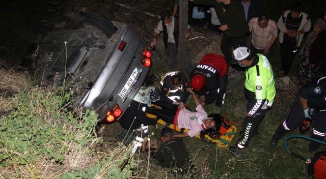 Manisa'da feci kaza: Yaralılar var