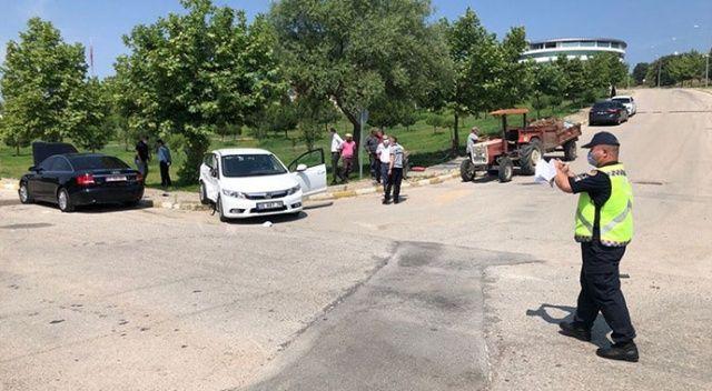 Manisa'da üniversite yerleşkesinde kaza: Rektör dahil 5 kişi yaralandı