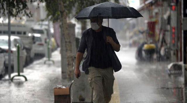 Meteorolojiden dört bölgeye kuvvetli sağanak uyarısı