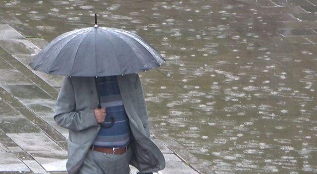 Meteorolojiden iki kente sağanak uyarısı