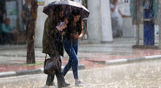 Meteorolojiden sağanak uyarısı (20 Haziran 2021 hava durumu)