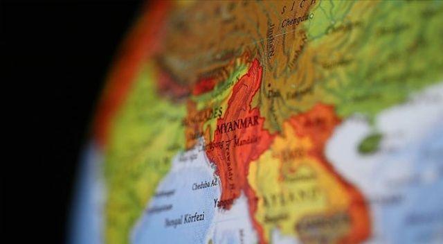 Myanmar'da askeri uçak düştü: 13 ölü, 16 yaralı