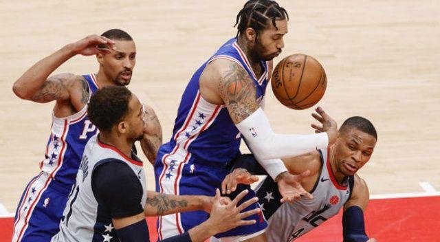 NBA play-off'larında Wizards, 76ers karşısında skoru 3-1'e getirdi