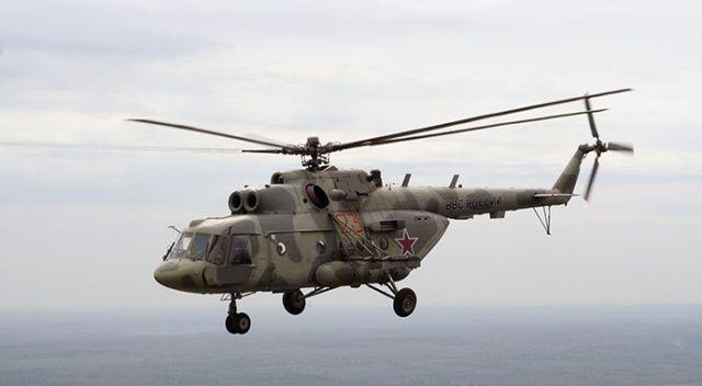 Rusya'da eğitim faciası! Askerî helikopter düştü