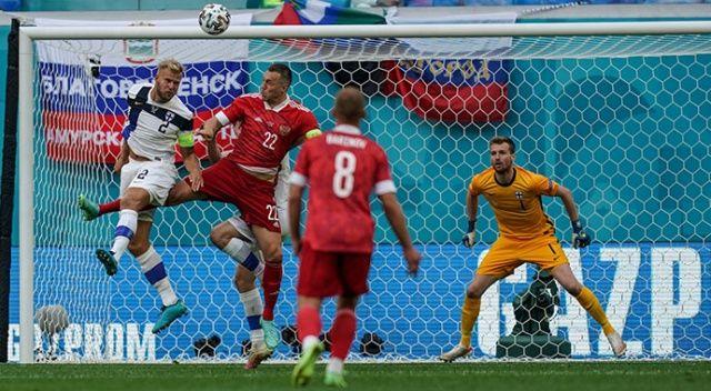 Rusya, Finlandiya'yı 1-0 mağlup etti