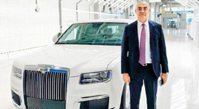 Rusya'nın lüks aracı Aurus'a Türk imzası