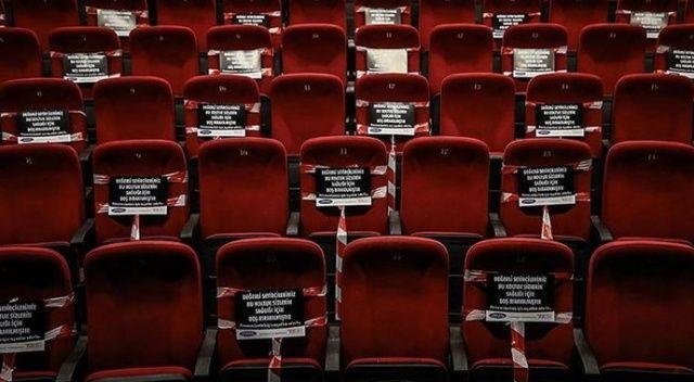 Sinema salonları yüzde 50'yle açılıyor