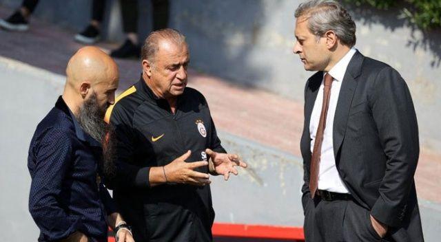 Terim, yeni başkan Elmas'la buluştu
