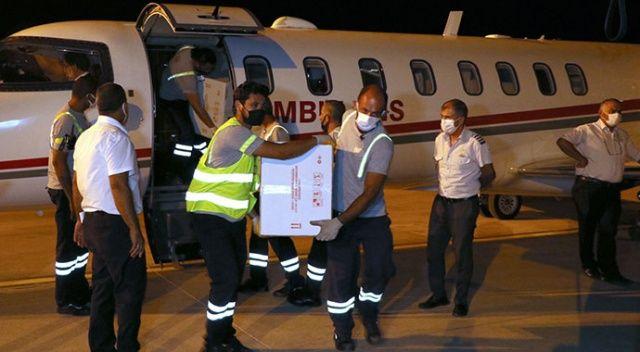 Türkiye'den KKTC'ye 26 bin doz Covid-19 aşısı