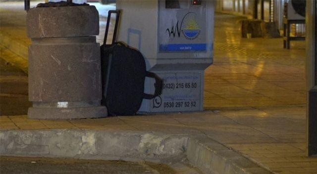 Van'da şüpheli valiz ekipleri harekete geçirdi