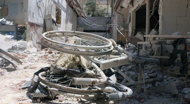YPG/PKK'nın füzeyle vurduğu hastane enkaza döndü