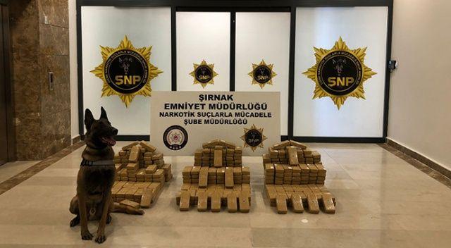 Zehir tacirlerine ağır darbe! 200 kilodan fazla eroin yakalandı