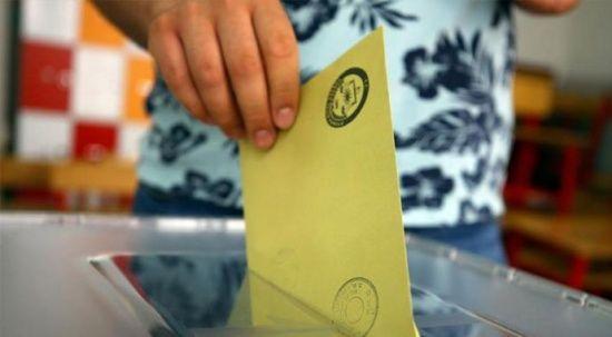 764 köy ve mahallede  bugün seçim yapılacak
