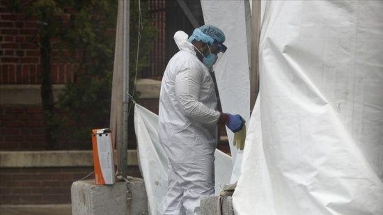 ABD'de koronavirüsten ölenlerin sayısı 596 bin 444'e yükseldi