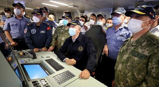 Akar ve komutanların katılımıyla 'Atmaca' test edildi