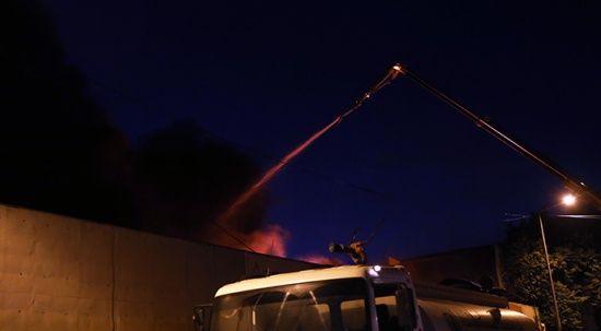 Ankara'da korkutan yangın! Çok sayıda ekip müdahale ediyor