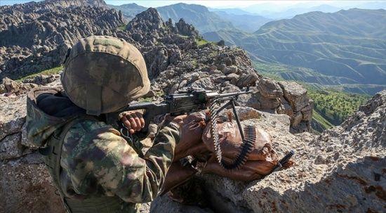 Avaşin'de 8 PKK'lı terörist etkisiz hale getirildi