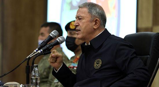 Bakan Akar: Haklı davalarında Libya ile beraberiz