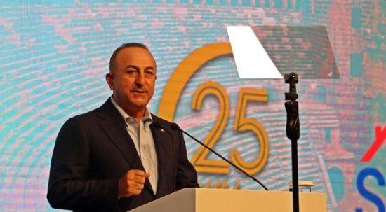 Bakan Çavuşoğlu: Azerbaycan'ın toprak ve sınır bütünlüğüne herkesin saygı duyması lazım