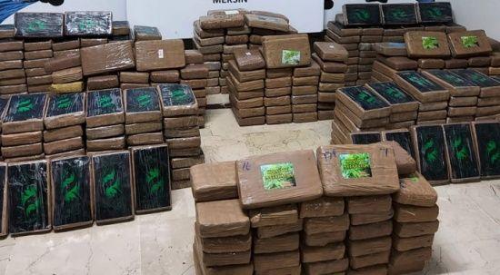 Bakan Muş duyurdu: Mersin Limanı'nda 463 kilogram kokain ele geçirildi