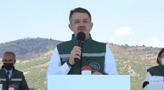 Bakan Pakdemirli erozyonla mücadelede son verileri açıkladı