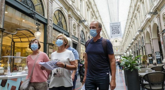 Brüksel'de maske kararı