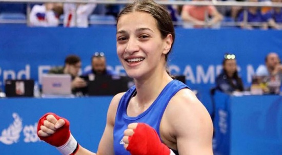 Buse Naz Çakıroğlu altın madalya kazandı