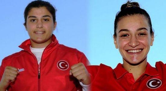 Buse Naz Çakıroğlu ve Busenaz Sürmeneli'den büyük başarı
