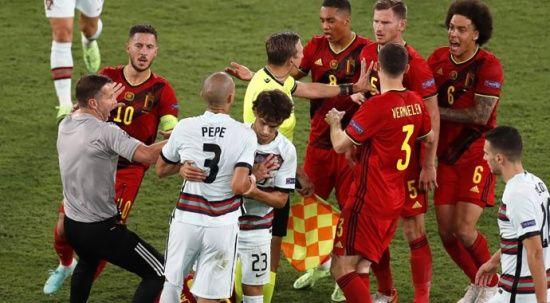 Çeyrek final yolunda Belçika'ya 1 gol yetti