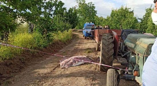 Çiftçinin feci sonu tarla yolunda geldi